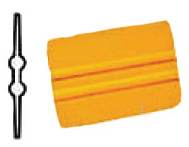 Yellow 12 inch Poly Blend Squeegee